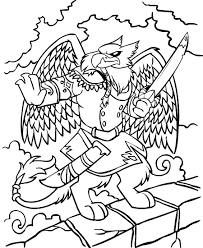 neopets darigan citadel colouring pages