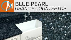 blue pearl granite with white cabinets blue pearl granite marble com youtube