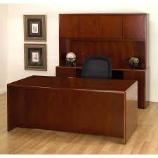 Solid Oak Office Desk Real Wood Desk Bethebridge Co