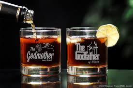 godmother wine glass godfather godmother whiskey glass set for madrina padrino