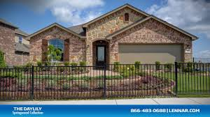 Lennar Independence Floor Plan Daylily Model Tour Lennar Dallas Fort Worth Youtube