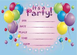 birthday party invitation template dhavalthakur com
