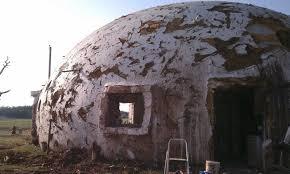 a testament to the dome shape monolithic dome institute