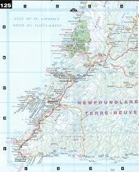Newfoundland Map Gander