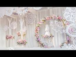 Streamer Chandelier How To Diy Floral Hoop Wreath Chandelier Tutorial Youtube