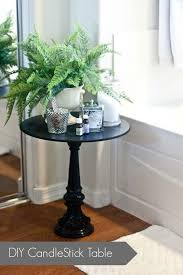 Build A Cheap End Table by Best 25 Tall Side Table Ideas On Pinterest Tall End Tables
