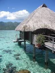 blue lagoon paradise moorea french polynesia round the world