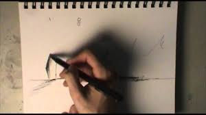 pen sketching tutorial 1 quick crosshatching youtube