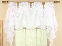 Sheer Valance Curtains Tassel Sheer Scoop Valance Curtains Wall S Furniture Decor
