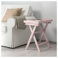 ikea small round side table maryd tray table pink 58x38x58 cm ikea