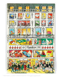hamleys floor plan toy catalogue 1976 to 1977