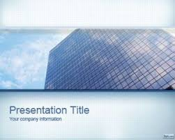 free professional business office powerpoint template