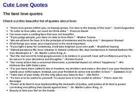 list with the best quotes