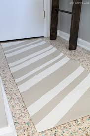 Make Rug From Carpet How To Make A Rug From A Drop Cloth Love Grows Wild