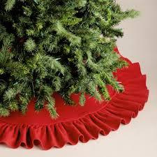 ruffled burlap tree skirt world market