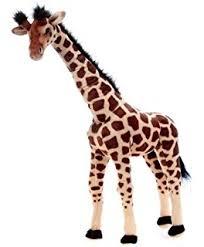 Giraffe Floor L Doug Giraffe Lifelike Stuffed Animal