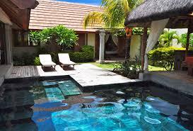 chambre avec piscine priv villa oasis location ile maurice avec piscine priv e en hotel privee