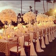 wedding table decor 88 best white gold silver weddings images on floral