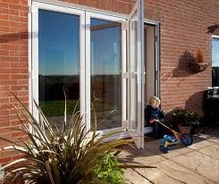 Bi Fold Glass Patio Doors by 8 Ft Foot Three Pane 2390mm X 2090mm Pvc Bi Fold Plus Stock Door