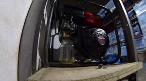 remove fuel from honda ec6000 youtube