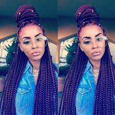 box braids hairstyles for black women 7 different box braids hairstyles for black women not you kylie