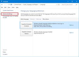 user layout en español how to change the system language across your whole windows 10 pc