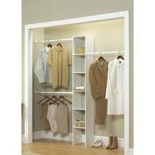 closet organizer home depot closetmaid 12 in white custom closet organizer 7033 the home depot