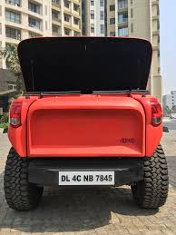modified mahindra jeep archer the intensely modified mahindra thar car news maxabout