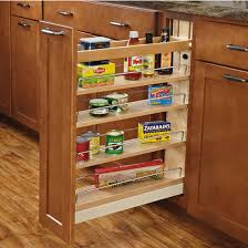 Kitchen Cabinet Slide Out Organizers Rev A Shelf Wood Pull Out Organizers With Soft Slides For