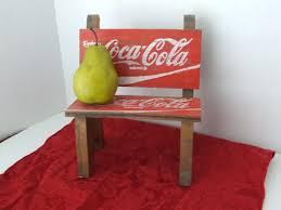 wooden coke cola bench vintage coke cola wooden bench miniature