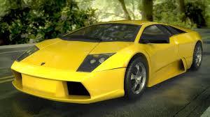 Lamborghini Murcielago Yellow - artstation lamborghini murciélago david muñoz