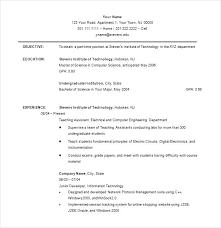 free exle resume excel high school format for college resumes undergraduate