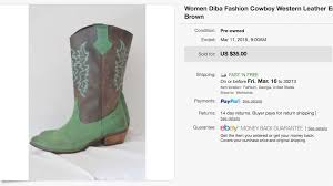 ebay womens cowboy boots size 11 the surprising things i ve sold on ebay and poshmark