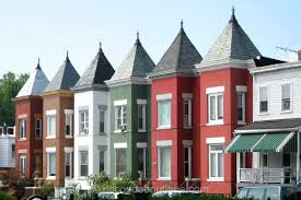 row homes columbia heights row houses washington dc real estate attached homes