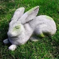 rabbit statue rabbit animal statues and lawn ornaments