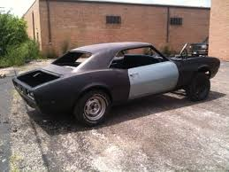 68 camaro project car for sale 1968 camaro project car ready to finish rust free roller 67 68