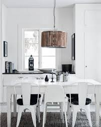Black And White Dining Room Ideas Black And White Kitchen Boncville Com