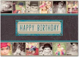 this scrapbook inspired birthday card would look great with