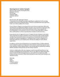 sample job cover letter for nurses failing cruel cf