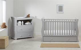 Sleigh Cot Bed Alaska Sleigh Cot Bed With Drawer Grey