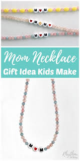 diy necklace making images Diy mom necklace gift idea kids can make rhythms of play jpg