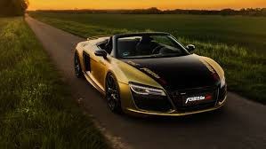Audi R8 V10 Spyder - 2017 fostla de audi r8 v10 spyder wallpaper hd car wallpapers