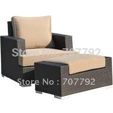 online get cheap wicker chair ottoman aliexpress com alibaba group