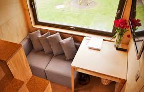 Tiny House Living Room by Tiny House The Cube Project