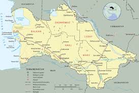 Map Of Asia With Cities by Turkmenistan Map Ashgabat Asia