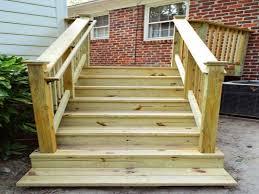 pre made wood deck steps home design mannahatta us