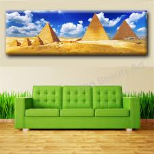 popular pyramid wall art buy cheap pyramid wall art lots from egyptian decor hd pyramid oil painting wall art home decorative wall picture for living room wall