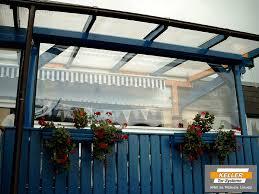 balkon wetterschutz witterungsschutz für terrasse balkon und carport das