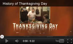history of thanksgiving activities thanksgiving