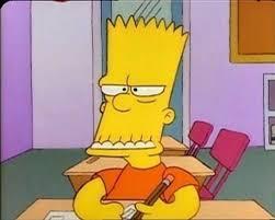 Bart Simpson Meme - bart simpson funny faces the simpsons en espa祓ol pinterest